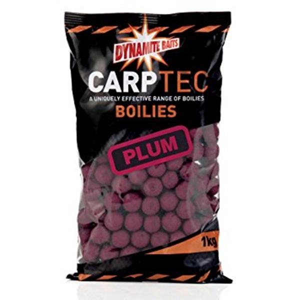 Dynamite Baits Carptec Boilies 2kg 20mm Plum